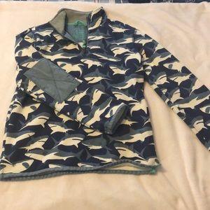 Mini Boden Shirts & Tops - Mini Boden Boys Halfzip NWOT